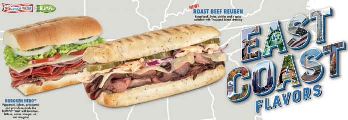 Blimpie Debuts New Roast Beef Reuben And Brings Back Hoboken Hero