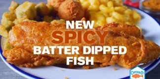 Captain D's new Spicy Batter Dipped Fish hero