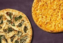 Casey's Adds New Chicken Alfredo Pizza, Brings Back Mac & Cheese Pizza