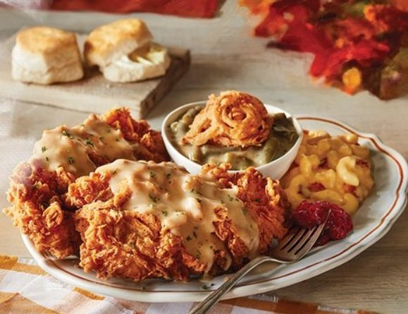 Cracker Barrel Welcomes Back Country-Fried Turkey