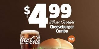 Jack In The Box Introduces New White Cheddar Cheeseburger Combo