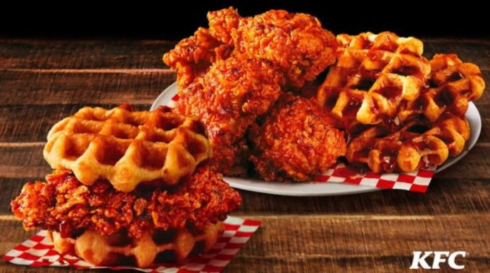 KFC Debuts New Nashville Hot Chicken And Waffles
