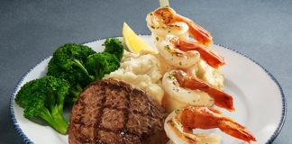 Red Lobster new Colossal Shrimp and Steak