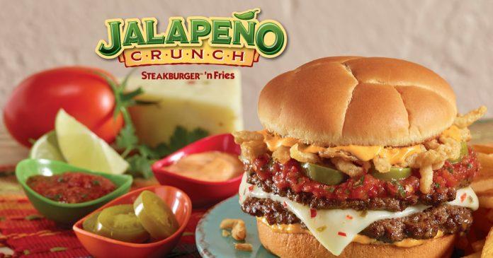 Steak 'n Shake Brings Back Jalapeño Crunch Burger
