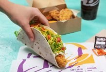 Taco Bell New Crispy Tortilla Chicken Strips And New Crispy Tortilla Chicken Taco hero