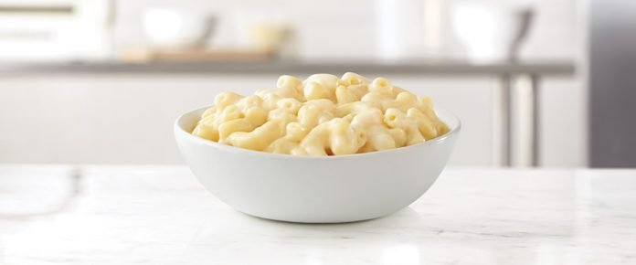 Arby's New White Cheddar Mac 'N Cheese hero