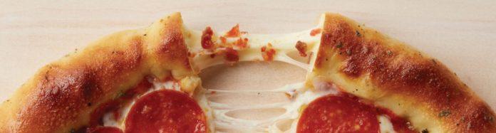 Chuck E. Cheese New Cheesy Bacon Stuffed Crusts Hero