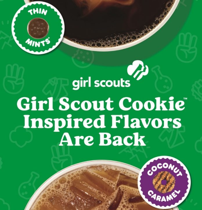 Dunkin' welcomes back Girl Scout Cookie Inspired Flavors hero