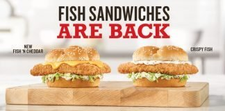 Fish Sandwiches are back at Arby's hero