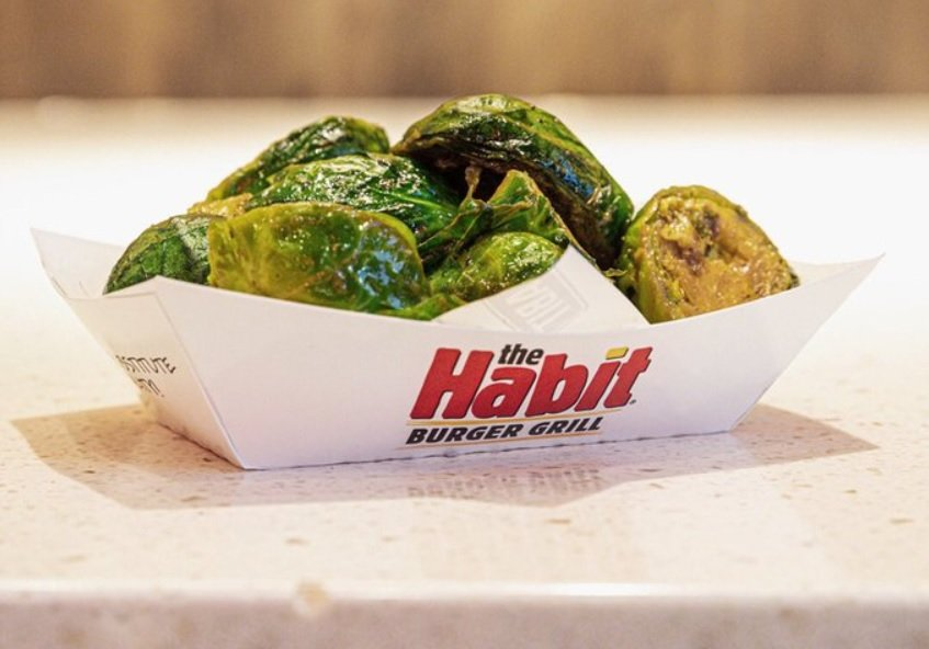 Habit Burger New Garlic Roasted Brussels Sprouts hero