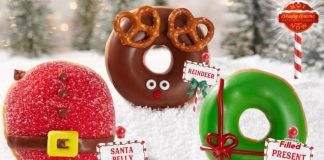Krispy Kreme Reveals New North Pole-Inspired Doughnuts hero