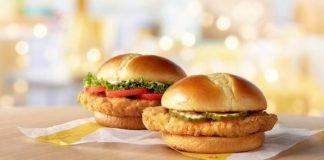 McDonald's Tests New Crispy Chicken Sandwich And New Deluxe Crispy Chicken Sandwich