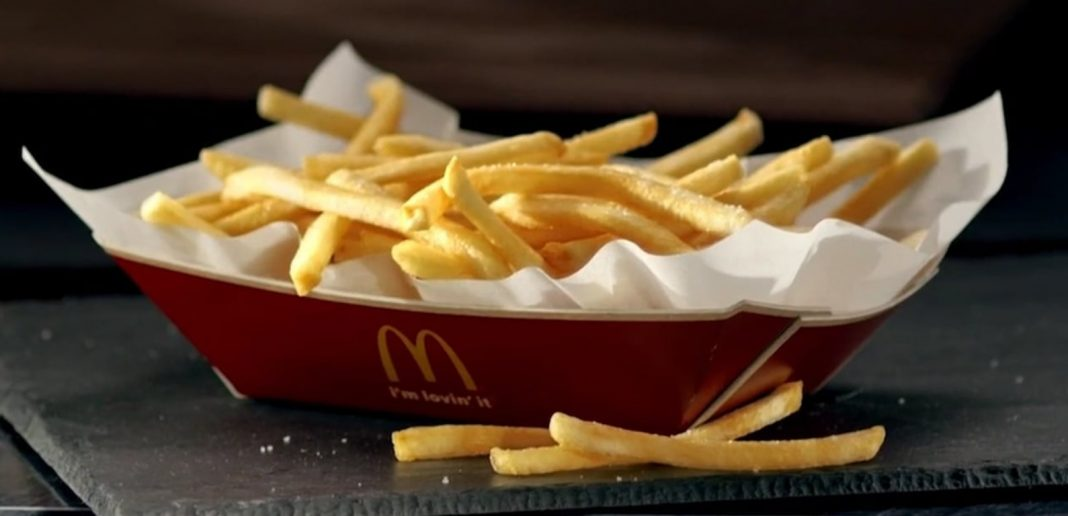 McDonald's new Basket of Fries hero