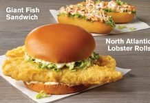 Captain D's $3.99 Seafood Sandwiches deal hero