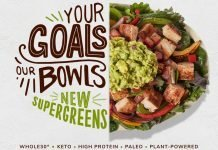 Chipotle new Supergreens Salad Mix hero