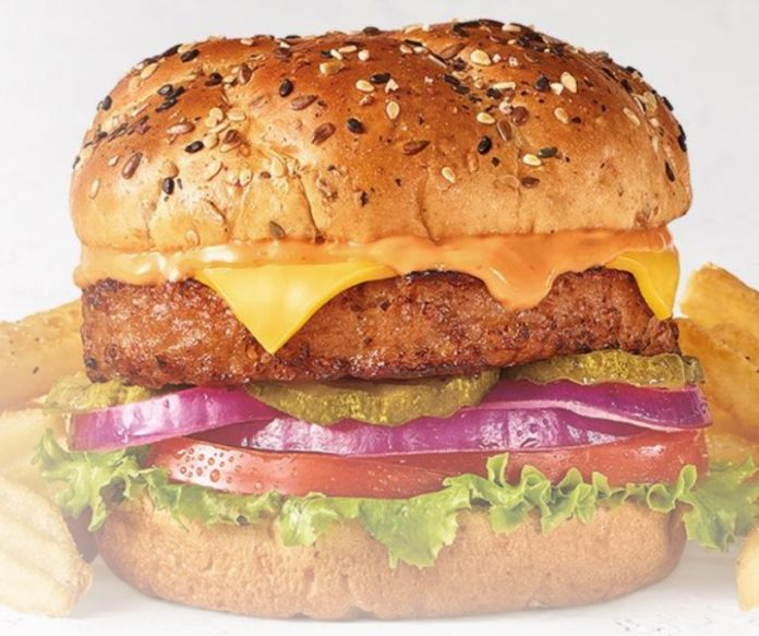 Denny's new Beyond Burger hero