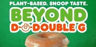 Dunkin' New Beyond D-O-Double G Sandwich hero