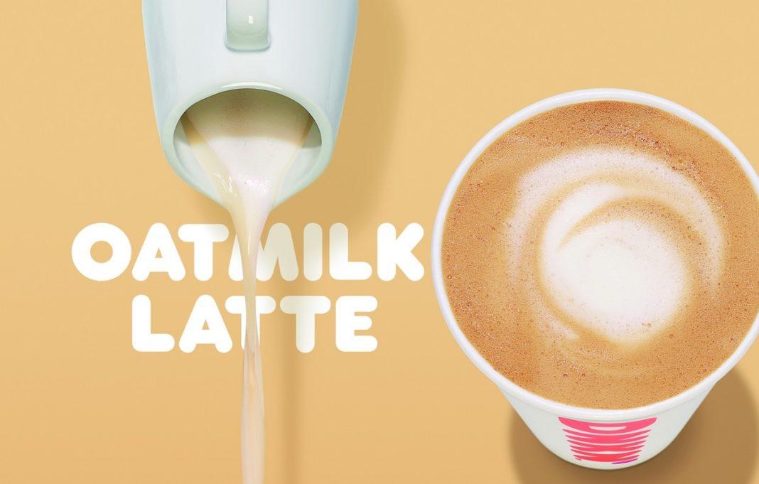 Dunkin' new Oatmilk Latte hero