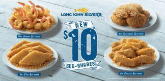 Long John Silver's new $10 Sea-Shares promo hero