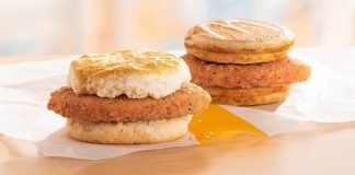 McDonald's New McChicken Biscuit And Chicken McGriddles hero
