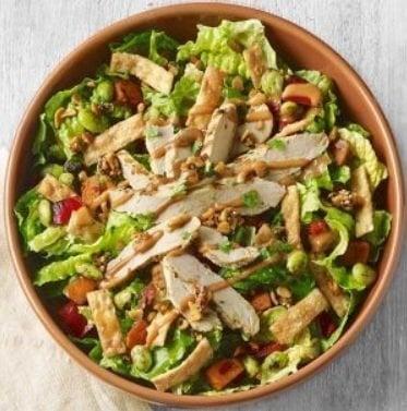 Panera Bread Spicy Thai Salad With Chicken