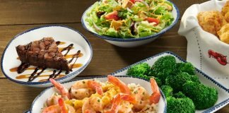 Red Lobster New 3-Course Shrimp Feast Event hero