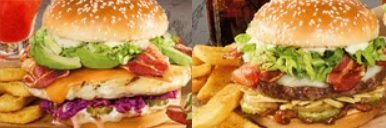 Red Robin New Zen Chicken Sandwich And New Bacon Curry Burger hero