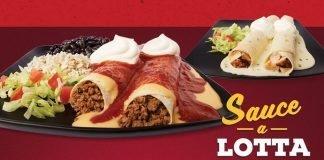 Taco John's new Sauce-A-Lotta Enchiladas hero