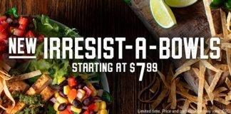 Applebee's new Irresist-A-Bowls hero