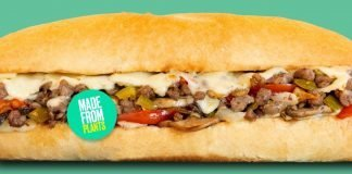 Capriotti's new Impossible Cheese Steak Sandwich made from plants