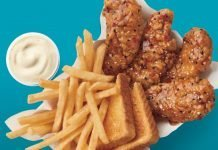 Dairy Queen New Sweet And Tangy Sesame Chicken Strip Basket
