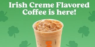 Dunkin' brings back Irish Creme Flavored Coffee hero
