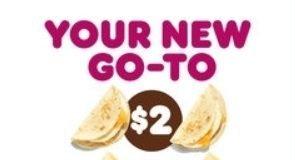 Dunkin' new Go2s menu hero