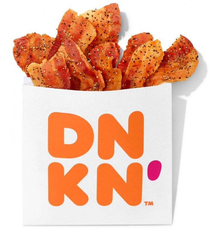 Dunkin' new Snackin' Bacon hero