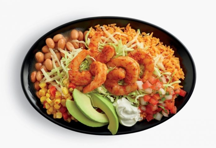 El Pollo Loco New Grande Avocado Baja Shrimp Bowl