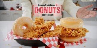 KFC Rolls Out New Kentucky Fried Chicken & Donuts Nationwide