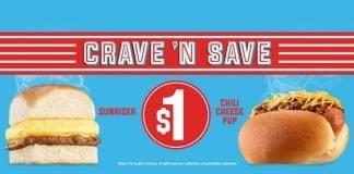 Krystal new Crave 'N Save Menu hero