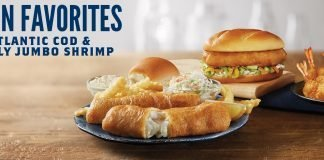 North Atlantic Cod Sandwich & Dinner And Butterfly Jumbo Shrimp Are Back At Culver's