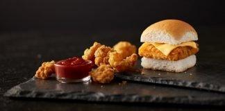 White Castle New Panko Breaded Fish Slider and Shrimp Nibblers hero