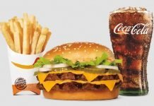 Burger King Big King XL Sandwich Combo Meal