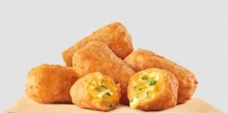 Burger King new Jalapeño Cheddar Bites