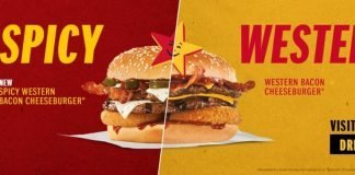 Carl's Jr. new Spicy Western Bacon Cheeseburger