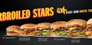 Hardee's Introduces New Charbroiled Stars Menu