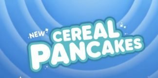 IHOP new Cereal Pancakes hero