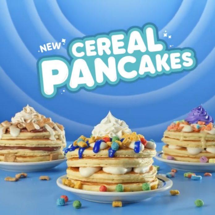 IHOP new Cereal Pancakes hero