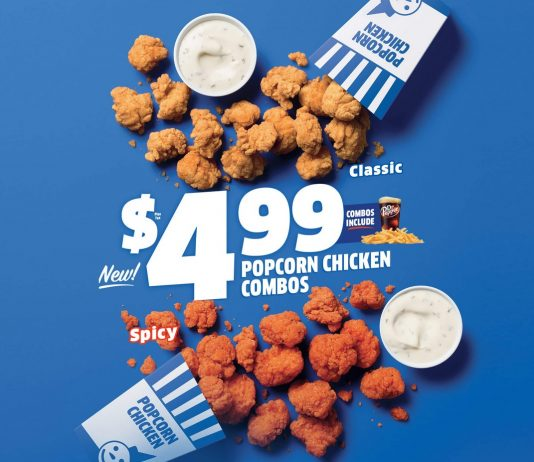 Jack In The Box new $4.99 Popcorn Chicken Combos hero