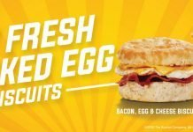 Krystal New Fresh Cracked Egg Biscuits