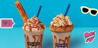 New Churro Chillatta At Cinnabon
