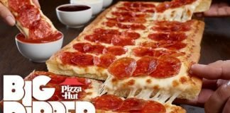Pizza Hut Brings Back The Big Dipper Pizza hero