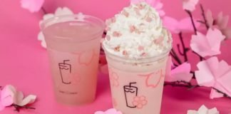 Shake Shack Cherry Blossom Shake and new Cherry Blossom Lemonade